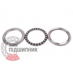Thrust ball bearing 51111 [GPZ-4]