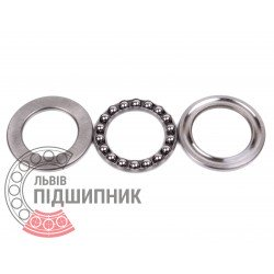 Thrust ball bearing 51107