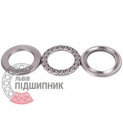 Thrust ball bearing 51103 [GPZ-4]