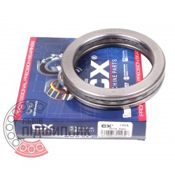 Thrust ball bearing 51116 [CX]
