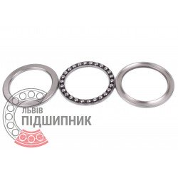Thrust ball bearing 51111 [CX]
