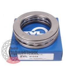 Thrust ball bearing 8214 (51214) [Kinex ZKL]