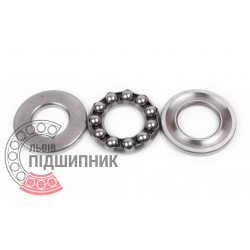 Thrust ball bearing 51205 [GPZ-4]