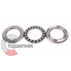 Thrust ball bearing 51218 [GPZ-4]