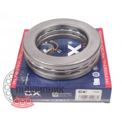 Thrust ball bearing 51210 [CX]