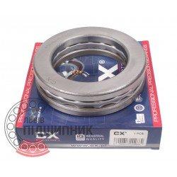 Thrust ball bearing 51210 [CX]