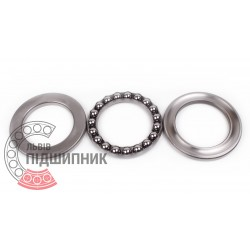 Thrust ball bearing 51211 [CX]