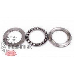 Thrust ball bearing 51220 [CX]