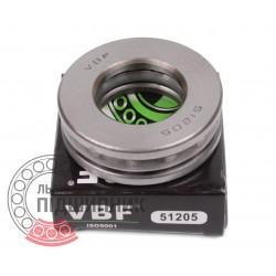 Thrust ball bearing 51205 [VBF]