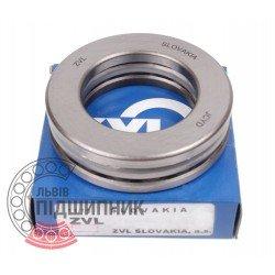 Thrust ball bearing 51209 [Kinex ZKL]