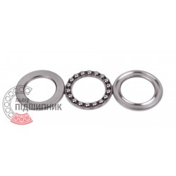 Thrust ball bearing 51102 [VBF]