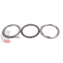 Thrust ball bearing 51115 [VBF]