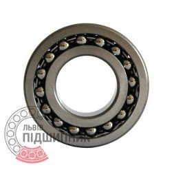 Self-aligning ball bearing 1207 [GPZ]