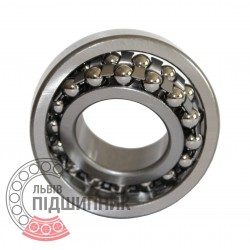 Self-aligning ball bearing 1312 [GPZ]