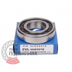 Подшипник роликовый 92207 (NUP207E) [Kinex ZKL]