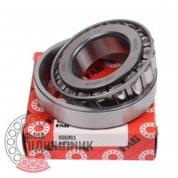 Tapered roller bearing 806093 [FAG]