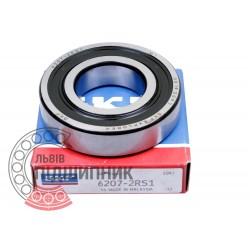 6207-2RS [SKF] Deep groove ball bearing