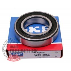6210-2RS [SKF] Deep groove ball bearing