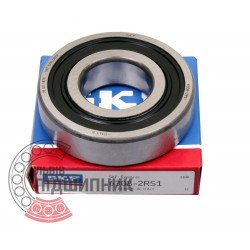 6308-2RS1 [SKF] Deep groove sealed ball bearing