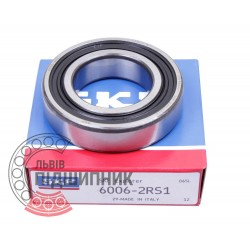 6006-2RSH [SKF] Deep groove ball bearing