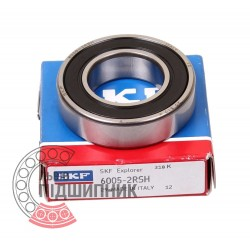 6005-2RSH [SKF] Deep groove sealed ball bearing