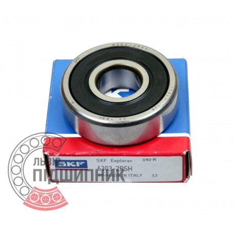 6303-2RSH [SKF] Deep groove sealed ball bearing