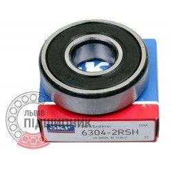 6304-2RS [SKF] Deep groove ball bearing