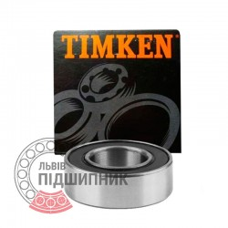 6016 2RS [Timken] Deep groove sealed ball bearing
