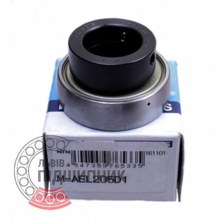 M-AEL205 D1 [NTN] Radial insert ball bearing