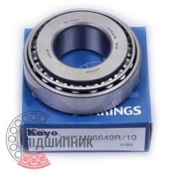M86649/10 [Koyo] Imperial tapered roller bearing