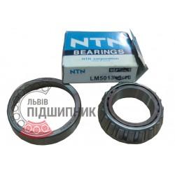 4T-LM501349/LM501310 [NTN] Конический роликоподшипник. Дюймовые размеры.