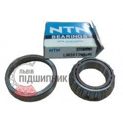 4T-LM501349/LM501310 [NTN] Конічний роликовий підшипник. Дюймові розміри.