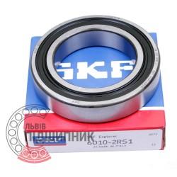6010-2RS1 [SKF] Deep groove sealed ball bearing