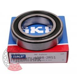 6008-2RS1 [SKF] Deep groove sealed ball bearing