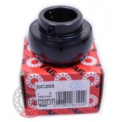 UC205 Black-Series [FAG] Insert ball bearing