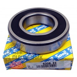 6208.EE [SNR] Deep groove sealed ball bearing