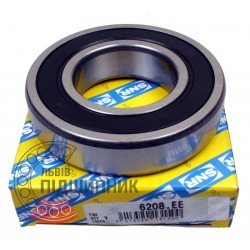 6208.EE [SNR] Deep groove sealed ball bearing