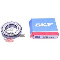 70-80210 | 6210-2Z/C3 [SKF] Підшипник кульковий закритий