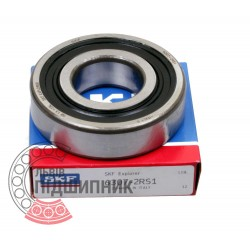 6307-2RS [SKF] Deep groove ball bearing