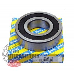 6308.EE [SNR] Deep groove sealed ball bearing