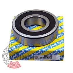 6309.EE [SNR] Deep groove sealed ball bearing