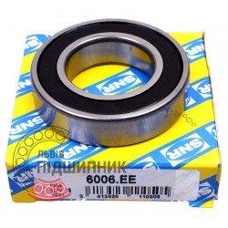 6006.EE [SNR] Deep groove sealed ball bearing
