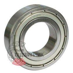 6000-2ZR [Kinex] Deep groove sealed ball bearing