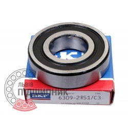 6309-2RS1/C3 [SKF] Deep groove sealed ball bearing