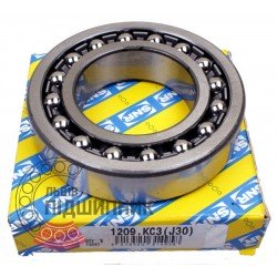 1209K C3/J30 [SNR] Self-aligning ball bearing