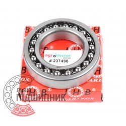1210 K C3 J30 [JHB] Double row self-aligning ball bearing