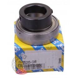 GRAE25NPPB   ES205 [SNR] Radial insert ball bearing, hexagonal bore