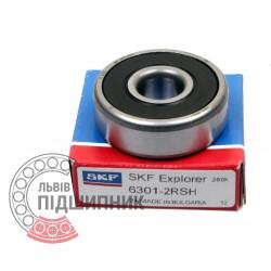 6301-2RSH [SKF] Deep groove sealed ball bearing