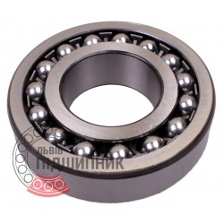 1309.C3 [SNR] Double row self-aligning ball bearing