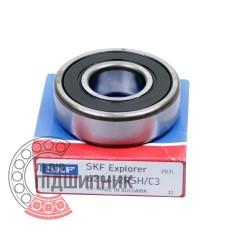6204-2RSH/C3 [SKF] Deep groove sealed ball bearing